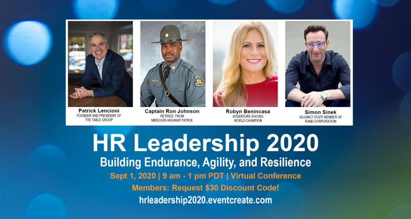 HR Leadership 2020 Virtual Conference